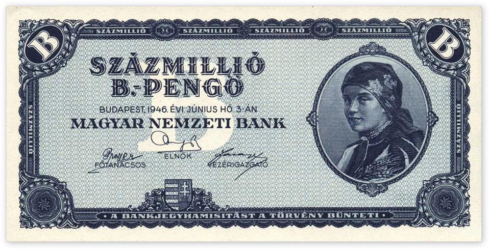 Százmillió-B. pengő