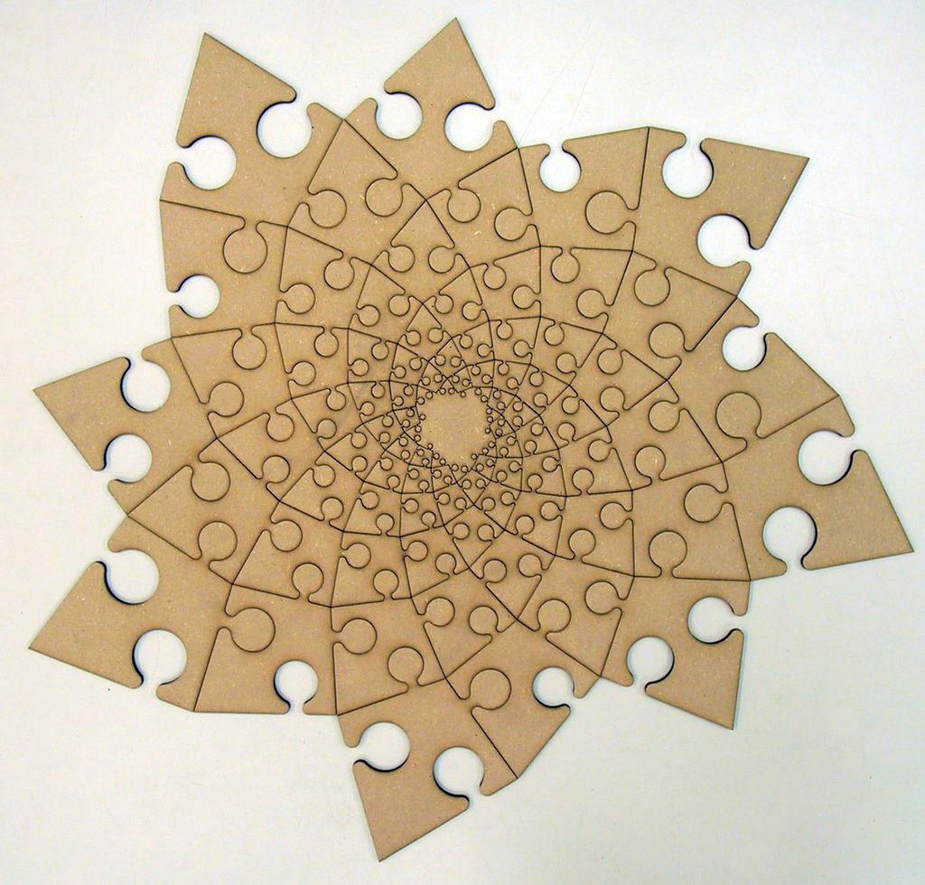 Fibonacci Spiral Puzzle