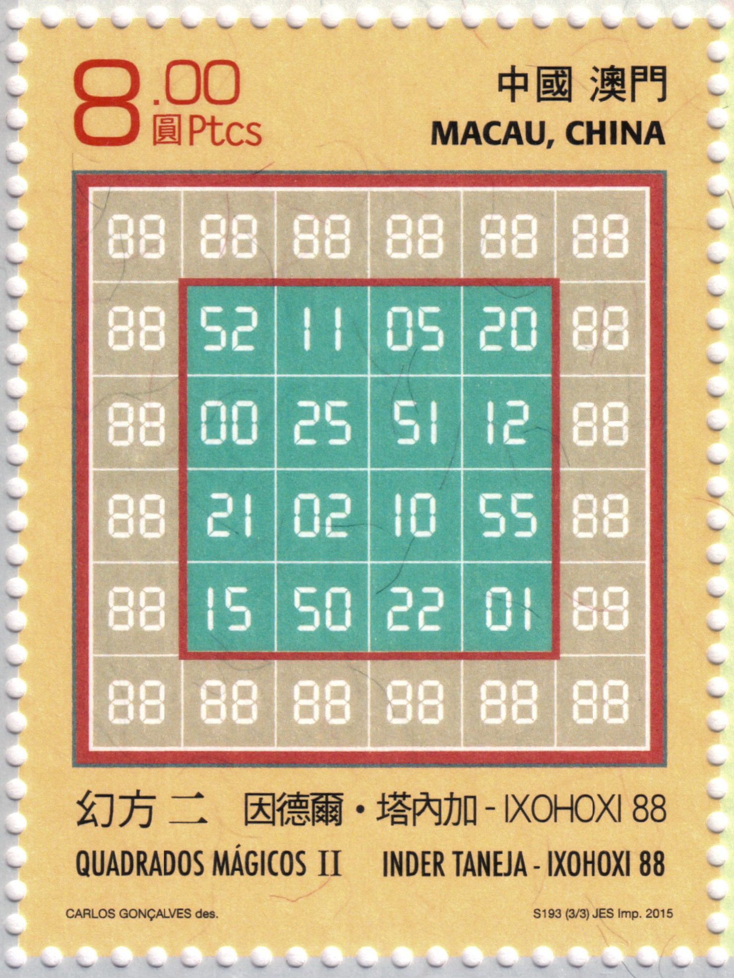 IXOHOXI magic square